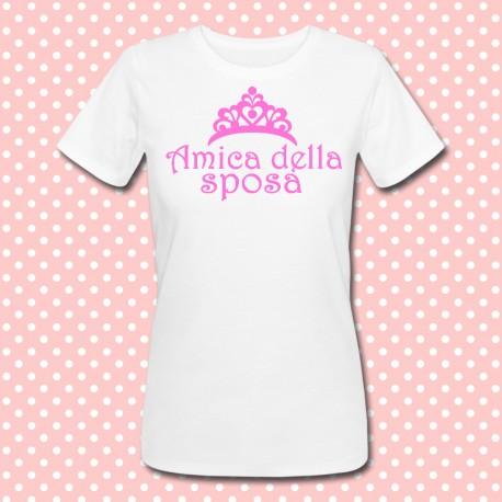 """Estremamente shirt """"Amica della sposa"""" idea regalo per addio al nubilato! NE17"""
