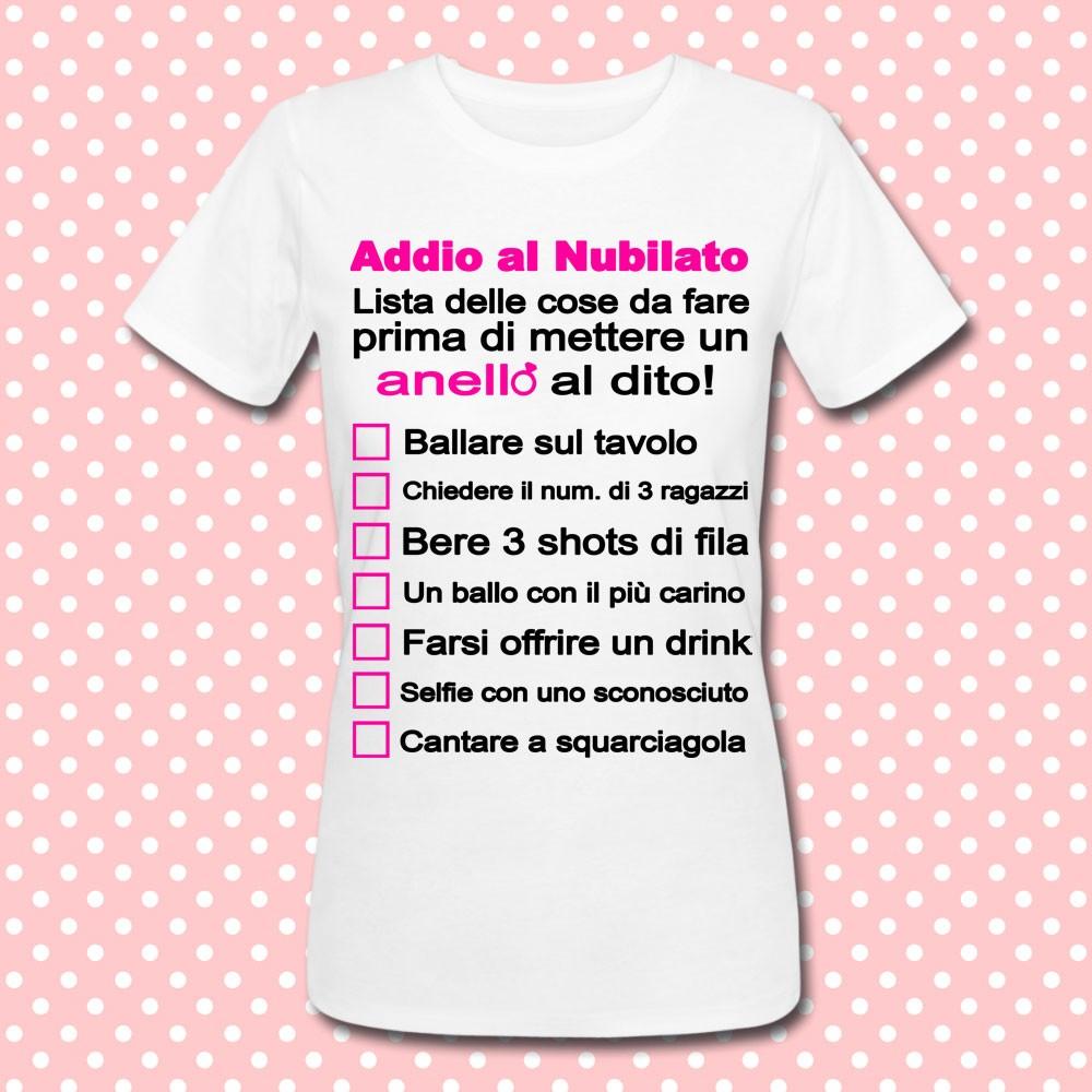 """Conosciuto T-shirt gioco per Addio al Nubilato """"Lista delle cose da fare  XH55"""
