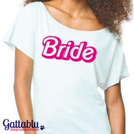 1d0dbfae04fea6 T-shirt donna con spalla scoperta