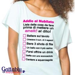 24627cc7addc1d T-shirt donna con spalla scoperta