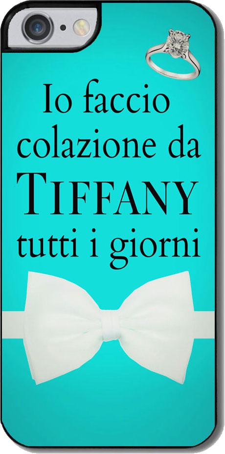 Cover Per Iphone 7 Con Stampa Io Faccio Colazione Da Tiffany Tutti I