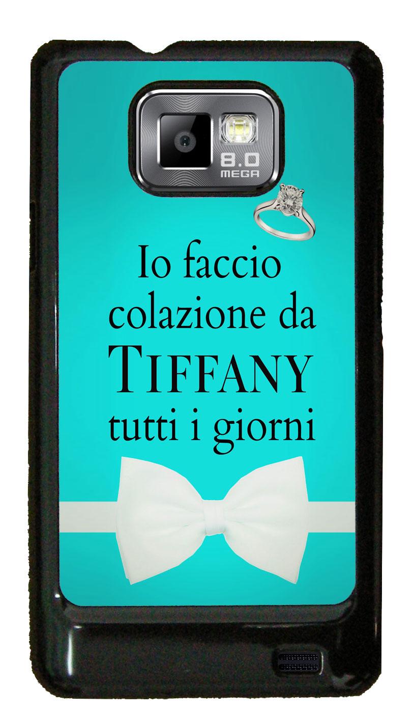 Cover Per Samsung Galaxy S2 Con Stampa Io Faccio Colazione Da
